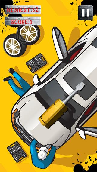 Car Garage Tool Build Motor Repair Juggle Simulator Game
