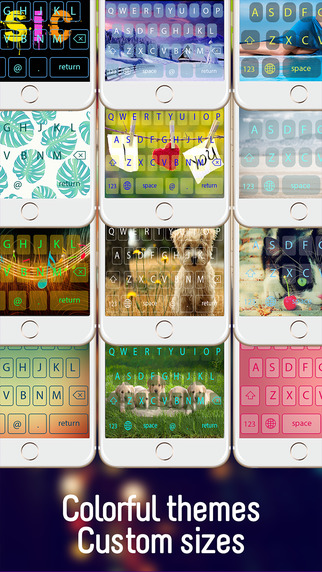 Color OkKeys - Customize your keyboard new keyboard design backgrounds