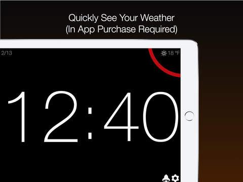 Big Clock - Alarm and Weather Screenshots