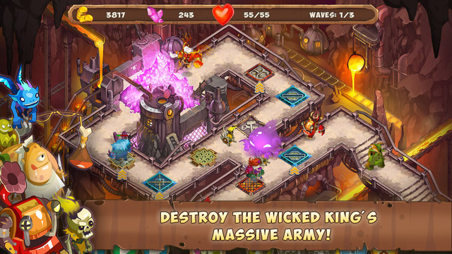 Gnumz: Masters of Defense TD Screenshots