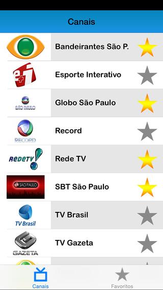 Brasil listas de TV: programa de televisão ao vivo - Television program live