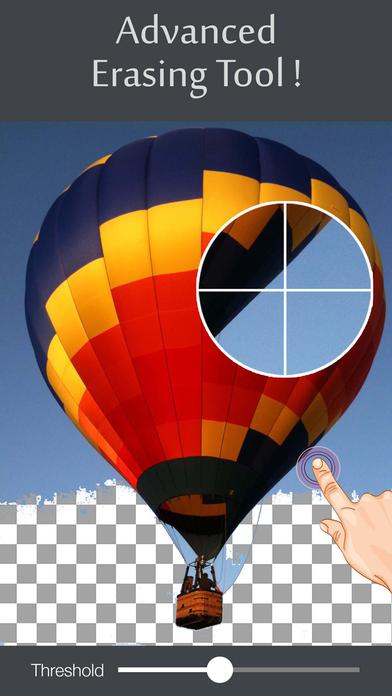 Screenshots of Background Eraser Remover - Superimpose Transparent Photo Editor App for iPhone