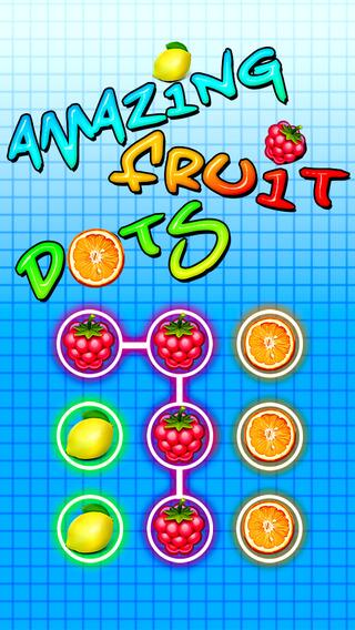 Fruit dots mania : Amazing matching puzzle game FREE