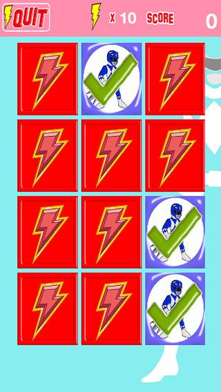 Kids Card Game Super Hero Rangers Power Edition