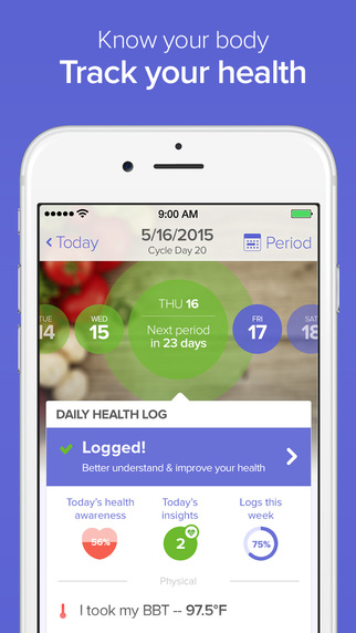 Glow - Ovulation Calculator Fertility Tracker