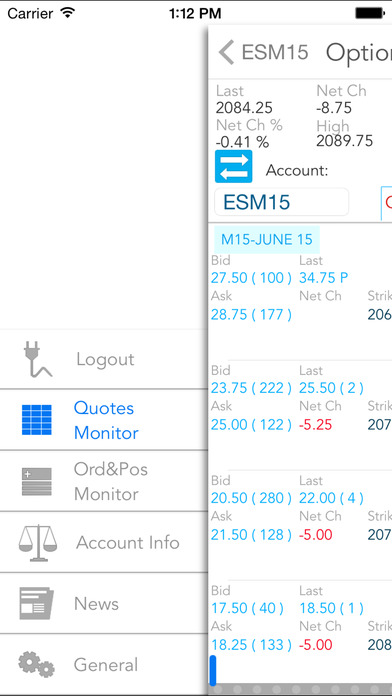 QST Mobile - Quick Screen Trading iPhone Screenshot 3
