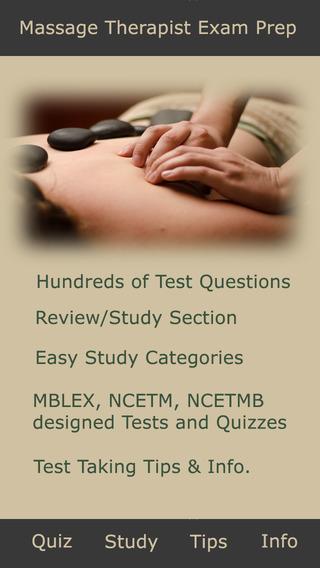 Massage Test Exam – MBLEx NCETM NCETMB