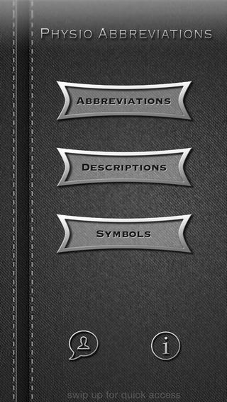 PhysioAbbreviations