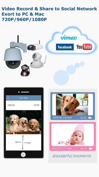 HooToo Pro Video Record MP4 Export Share 720P 960P 1080P P2P