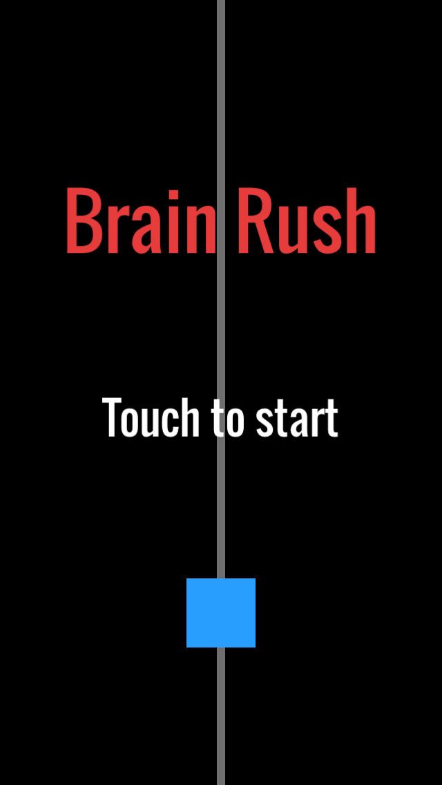 how to play brain rush app