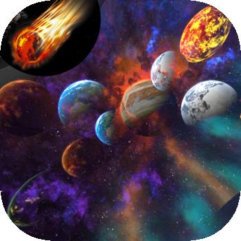 Asteroids 3D LOGO-APP點子
