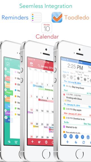 ActionAgenda Lite - Calendar GTD Planner +Toodledo