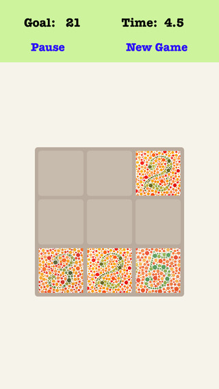 A¹A Color Blind Fibonacci 3X3 - Sliding Number Tiles Who Can Get Success Within 11 Seconds