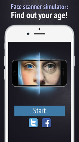 Face scanner simulator: What age