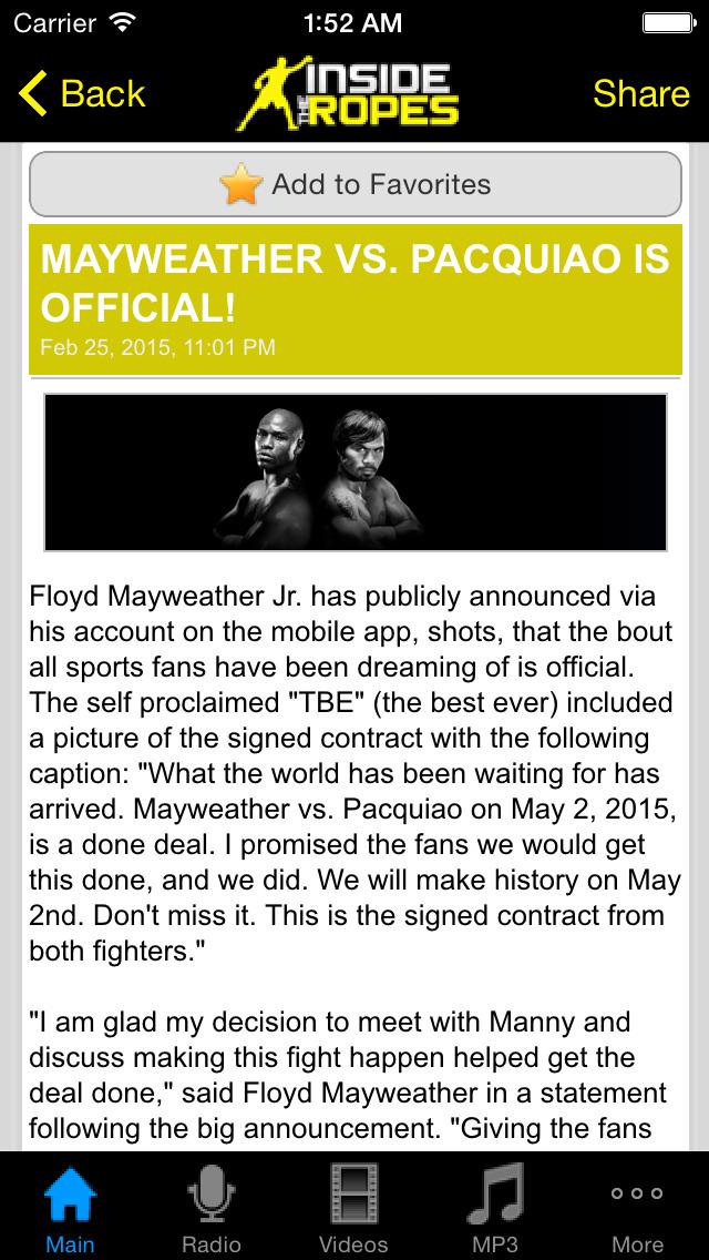 ITR Boxing screenshot