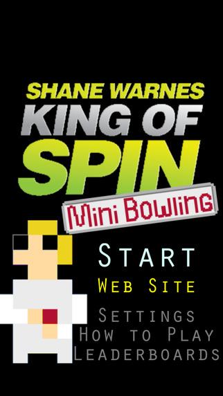 Shane Warne King of Spin Cricket - Mini Bowling