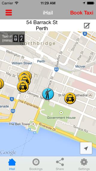 Black White Cabs Perth