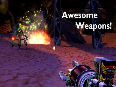 Screenshot #5 for Frantic: Monster Shooter!