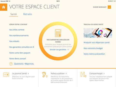 Espace Client Malakoff Médéric : assurance santé prévoyance épargne et retraite