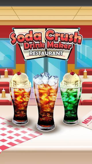 Awesome Jelly Soda Crush Drink Maker Restaurant