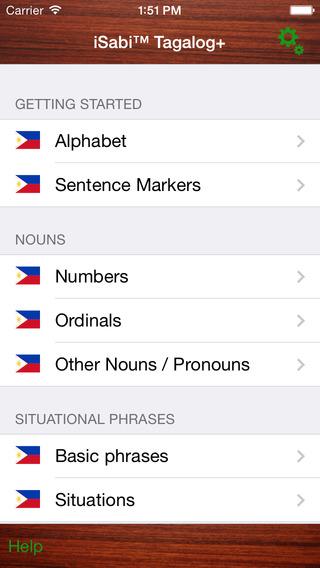 iSabi Tagalog Free