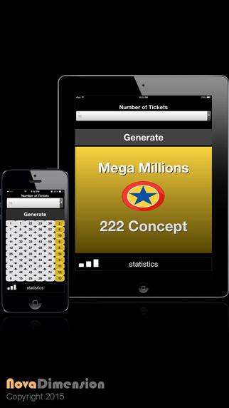 Mega Millions Lotto Lite