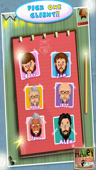 玩免費遊戲APP|下載Hairy Beard Salon – It's Messy Moustache & Shaving Barber Game app不用錢|硬是要APP
