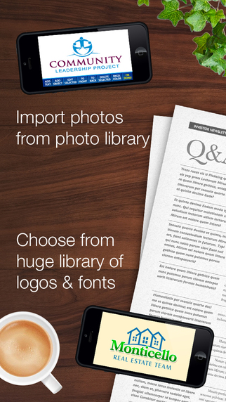 玩商業App|InstaLogo Logo Creator - Graphics maker for logos, poster, flyer & invitation design免費|APP試玩