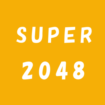 Super 2048-Added[Triangle Mode]、[ 6x6 Board Size] and [Hexagon Mode]! 遊戲 App LOGO-APP試玩