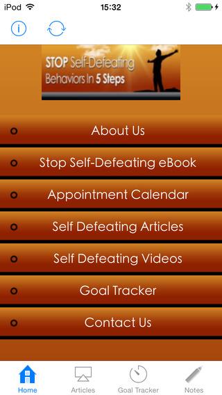 Stop Self Defeating Behaviors Guide