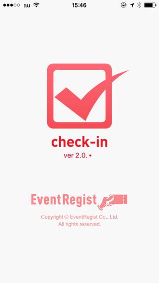 EventRegist check-in