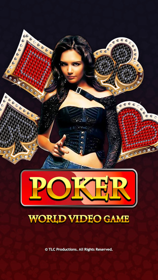 A Poker World Video Game Not Texas Holdem Casino Series Games