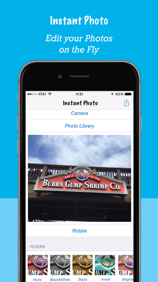 Instant Photo - Instantly Share edited Photos