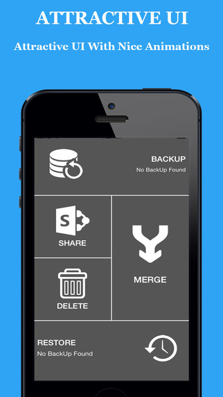 Contact Backup Merge Share Deleting Utility Free