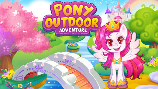 Pony Play Town Outdoor Adventure - Kids Games