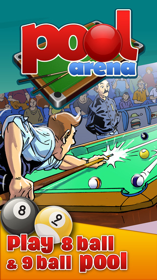 Pool Arena - Online Multiplayer 8 Ball and 9 Ball Billiards