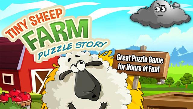 A Tiny Sheep Virtual Farm Pet Puzzle Story