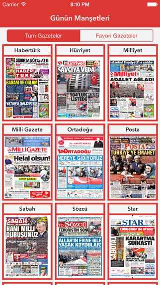 Manşetler - Günlük Gazete Manşetleri