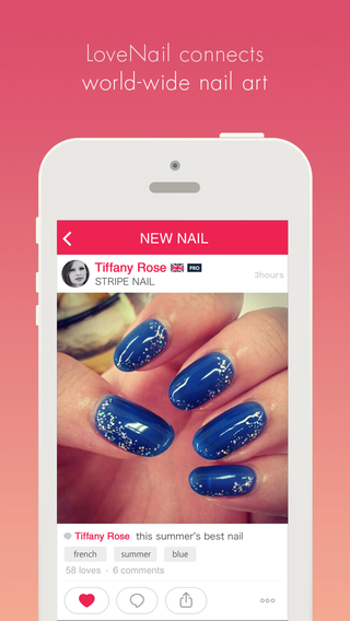 nail app that's best of all is Love Nail - share and find fashion nail art photo