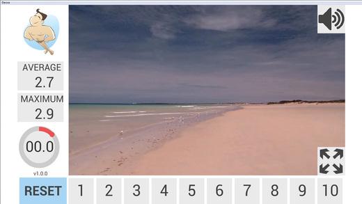 Beach Walk Breathing Apps