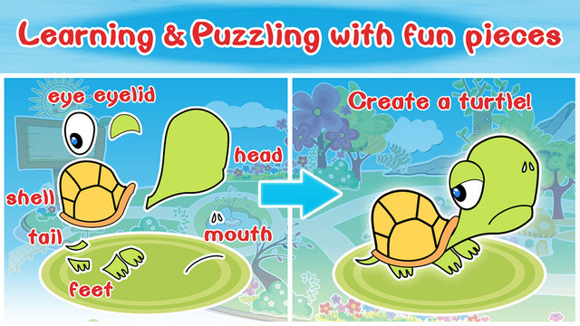 My Animal Island kids 2+ — Learning puzzling game for preschool kids and toddlers.
