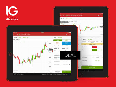 IG Trading – spread betting CFD forex and stockbroking for iPad
