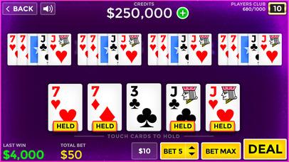 Screenshot 3 Лаки Видео Покер — бесплатно Видео Покер Обучение и моделирование