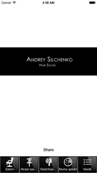 Andrey Silchenko Hair Salon Lv