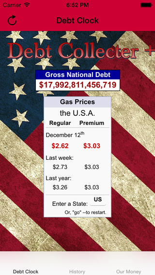 USA Debt Clock