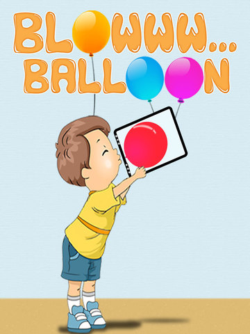 Blow Balloon For iPad Pro