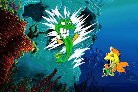 Freddi Fish and The Case of The Creature of Coral Cove Games