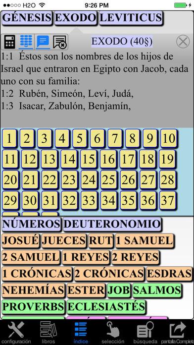 Español Santa Biblia (Spanish Modern Translation Bible) iPhone Screenshot 2