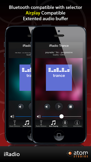 iRadio: Trance iPhone Screenshot 2