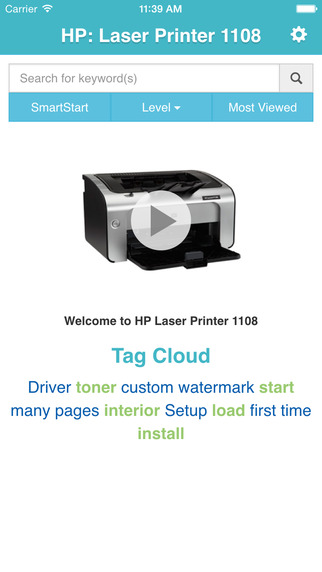 Showhow2 for HP LaserJet P1108